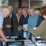 Veel belangstelling van bezoekers bij de stand van BerkellandEnergie.