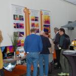 Kleurige beelden van een warmtecamera tonen het effect van isolatie.