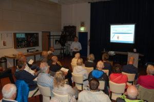 Veel belangstelling voor de interactieve sessie van prof. André Nijhof.